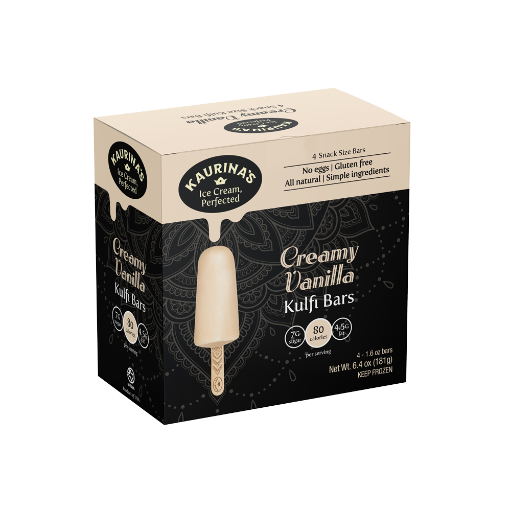 Creamy Vanilla Kulfi